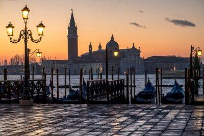 Cuadro Venecia, alba e iglesia di S. Giorgio
