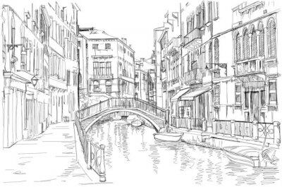 Cuadro Venecia - Fondamenta Rio Marin