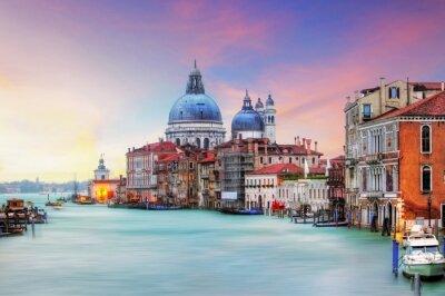 Cuadro Venecia - Gran Canal y de la Basílica de Santa Maria della Salute