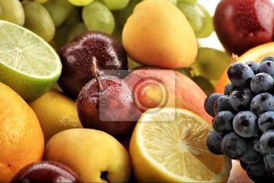 Verduras frescas, frutas