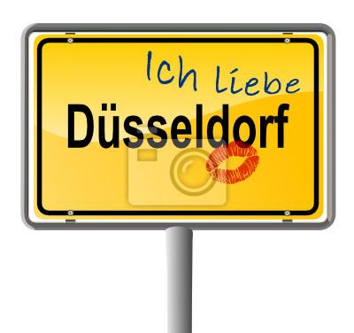 Verliebt en Düsseldorf