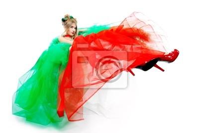 vestido de hinchada