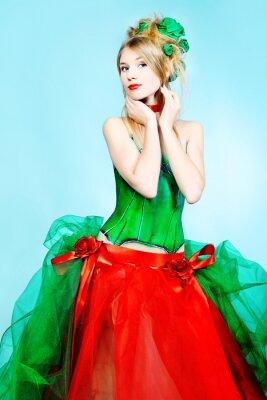 vestido de temporada