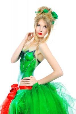 vestido extravagante