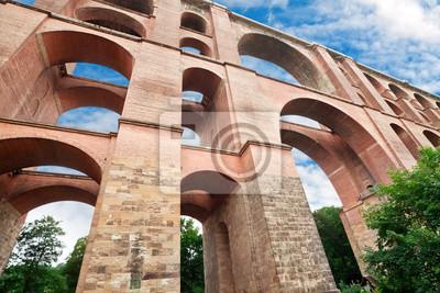Viaducto Göltzschtalbrütske, Alemania