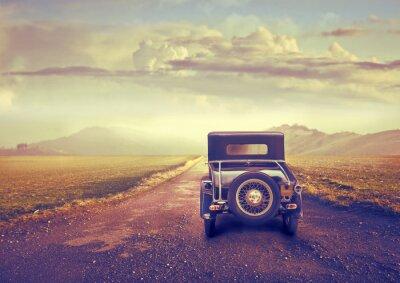 Cuadro Viaje del vintage