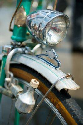Cuadro Vieja bicicleta retro