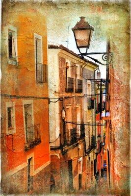 viejas calles de España - foto artística