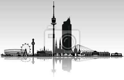 Viena arquitectura de horizonte