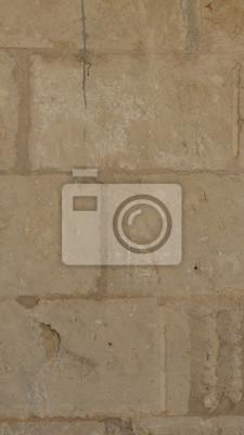 vintage stone wall beige