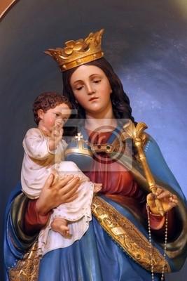 Virgen María Con El Niño Jesús Pinturas Para La Pared Cuadros