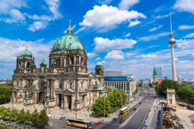 Cuadro Vista de la catedral de Berlín