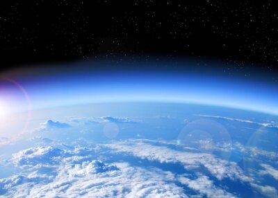 Cuadro Vista de la Tierra desde el espacio