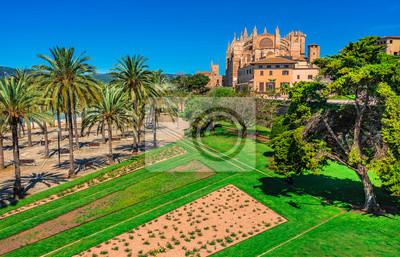 vistas Palma de Mallorca de la catedral de La Seu