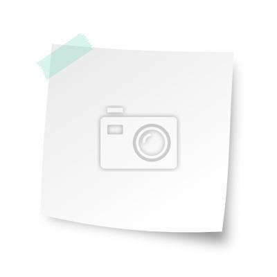 Weiß Notizzettel