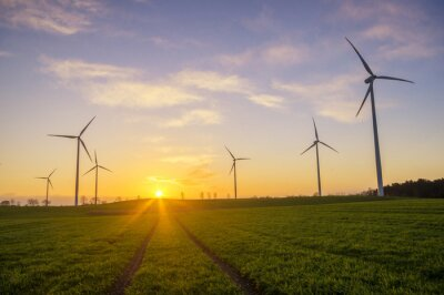 Cuadro Wiatraki (turbina wiatrowe)