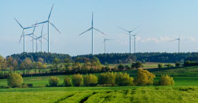 Wind turbines as an element of the German rural landscape