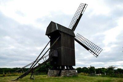 windmill in holland, in Sweden Scandinavia North Europe