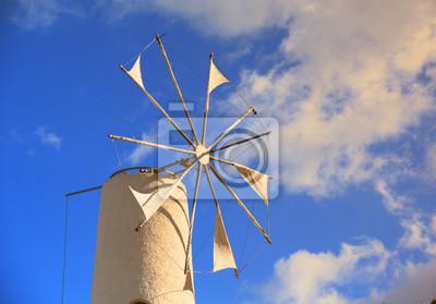 Windmühle auf der Lassithi-Hochebene, Kreta