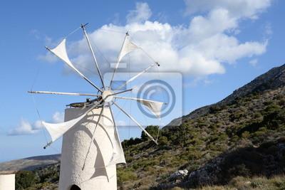 Windmühle auf Kreta
