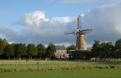 Windmühle De Onderneming in Wissenkerke, Zeeland
