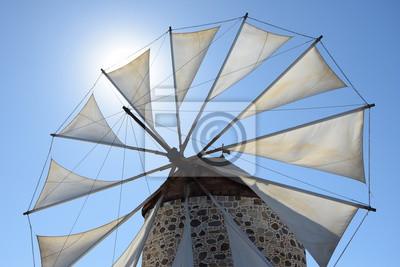 Windmühle en Antimachia auf Kos