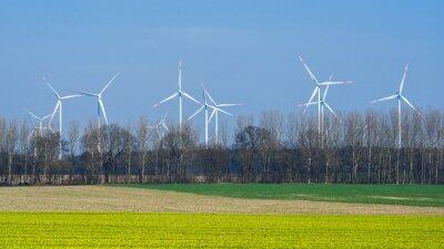 Windräder en Frühling
