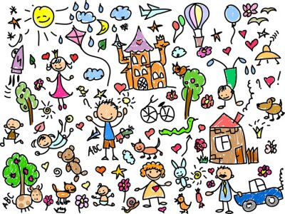 Cuadro Детские рисунки