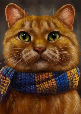 Cuadro кот Рыжий