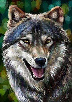 Cuadro Волк