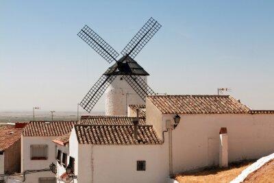 windmills in Сampo de Criptana, La Mancha, Spain