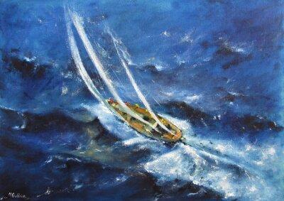 Cuadro Yachting V
