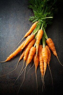 Cuadro Zanahorias frescas
