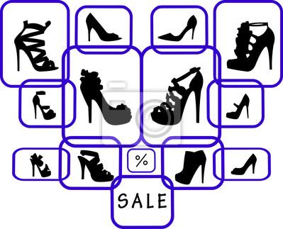 Tienda Silueta La De Cuadro Mujer Venta Zapatos xwUqTWO