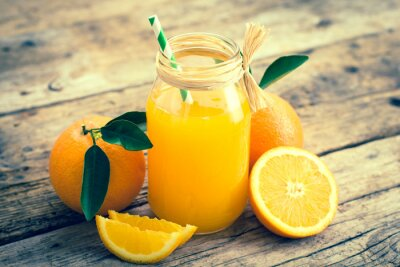 Cuadro zumo de naranja
