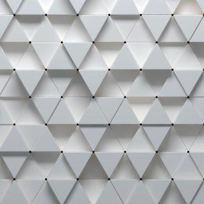 Fotomural 3d ilustración de patrón geométrico