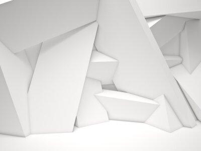 Fotomural 3d pared geométrica