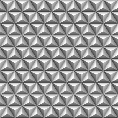 Fotomural 3d triángulo patrón transparente