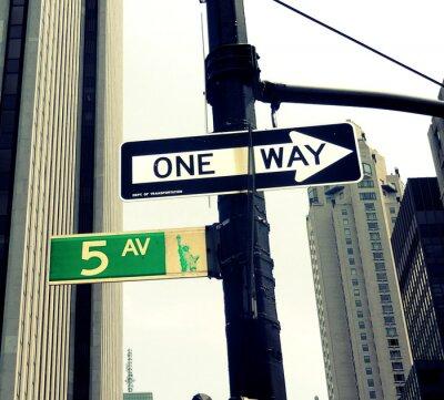 Fotomural 5th Avenue Farola