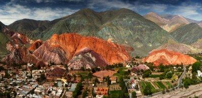 Fotomural 7 colores montaña