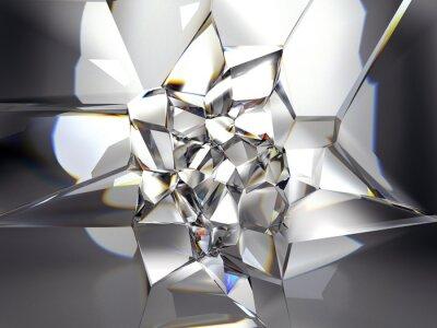 Fotomural abstracto fondo claro cristal