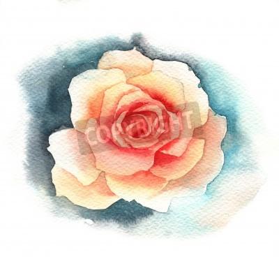 Fotomural Acuarela rosa
