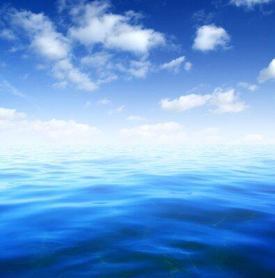 Fotomural Agua azul del mar