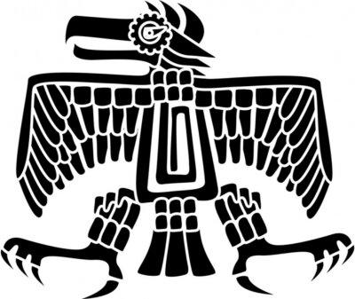 Águila azteca fotomural fotomurales paciencia paciente día de