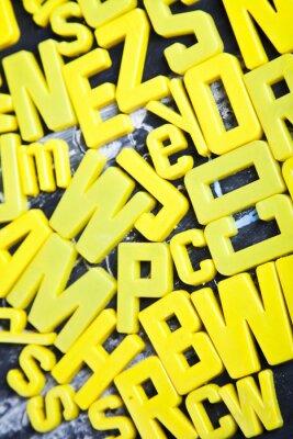 Fotomural Alfabeto, pizarra, educación