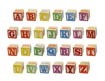 Fotomural Alphabet Blocks