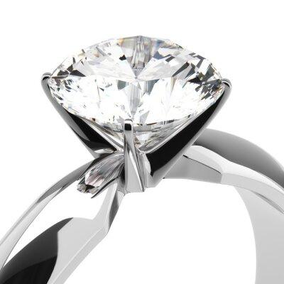 Fotomural Anillos de diamantes