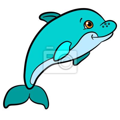 Animales De Dibujos Animados Para Ninos Pequeno Bebe Lindo Nadar