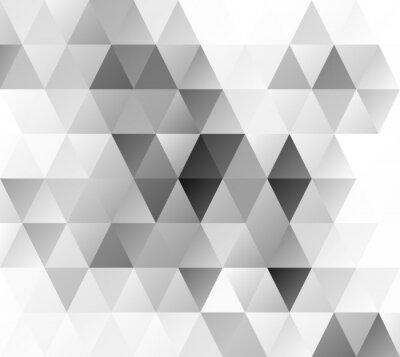 Fotomural Antecedentes del mosaico rejilla gris, plantillas de diseño creativo