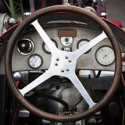 Fotomural antigua rueda